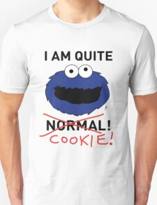 COOKIE MONSTER (BLACK TEXT) T-Shirt