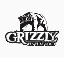 Grizzly Smokeless Tobacco by heavymanchad