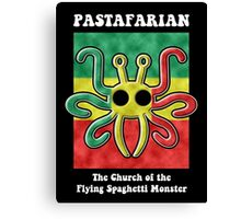 Pastafarian -- The Church of the Flying Spaghetti Monster Canvas Print