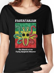 Pastafarian -- The Church of the Flying Spaghetti Monster Women's Relaxed Fit T-Shirt