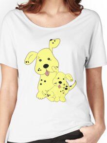 Spotty Dog .. tee shirt Women's Relaxed Fit T-Shirt