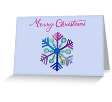 Joyful Snowflake Greeting Card