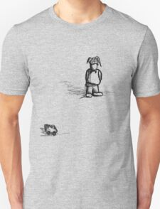Huggy goes to town (large) T-Shirt
