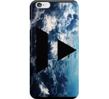Triad sky vertical iPhone Case/Skin