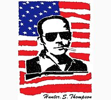 Hunter S Thompson. Drugs, alcohol, violence and insanity Unisex T-Shirt