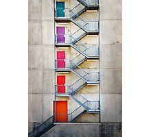 Five Doors Photographic Print