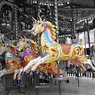 Carousel Horses by Liz Lane