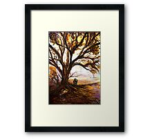 Autumn Love Framed Print
