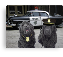 "☞ º°""˜`""°☜♥☞CANINE POLICE DOGS- BAD BOYS THEME TAKEN FROM THEME SONG ☞ º°""˜`""°☜♥☞ Canvas Print"