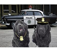"☞ º°""˜`""°☜♥☞CANINE POLICE DOGS- BAD BOYS THEME TAKEN FROM THEME SONG ☞ º°""˜`""°☜♥☞ Photographic Print"