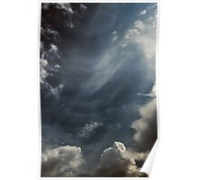 Clouds Over Irwin Prairie State Nature Preserve Poster