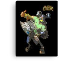 League of Legends - Olaf Brolaf Canvas Print