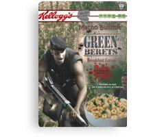 Commando Breakfast Cereal Metal Print