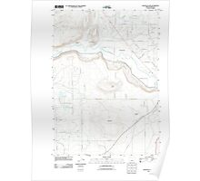 USGS Topo Map Oregon Houston Lake 20110825 TM Poster