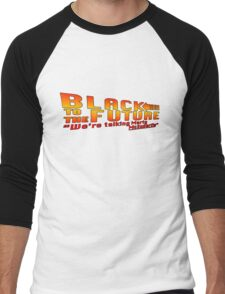 Black to the future Men's Baseball ¾ T-Shirt