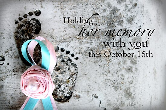 Holding Her Memory This October 15th by Franchesca Cox