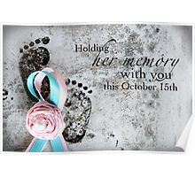 Holding Her Memory This October 15th Poster