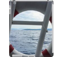 Croatian Boat iPad Case/Skin