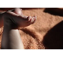 Dream in foot prints. Photographic Print