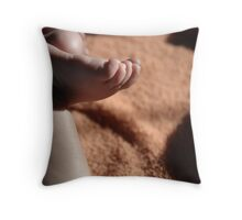 Dream in foot prints. Throw Pillow