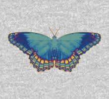 Colorful Butterfly One Piece - Long Sleeve