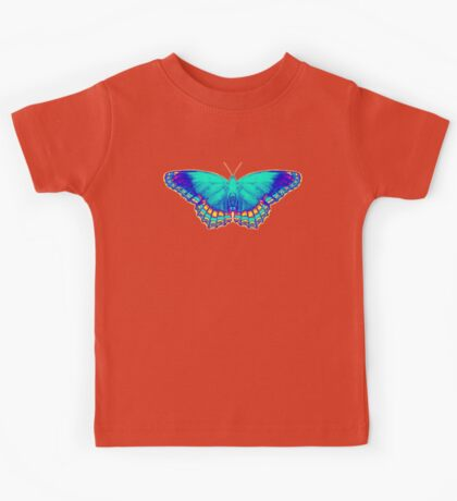 Colorful Butterfly Kids Tee