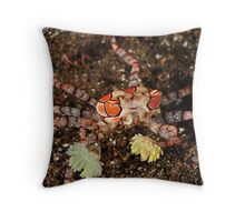 Boxer Crab Throw Pillow