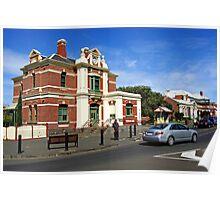 Queenscliff Post Office Poster
