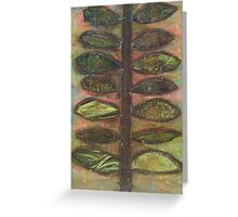 Collage Plant Greeting Card