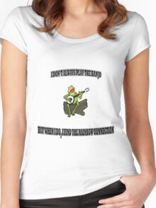 The Most Interesting Frog in the World Women's Fitted Scoop T-Shirt