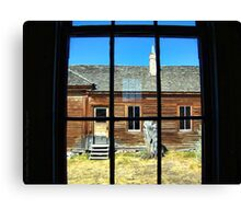 Window Into the Past Canvas Print