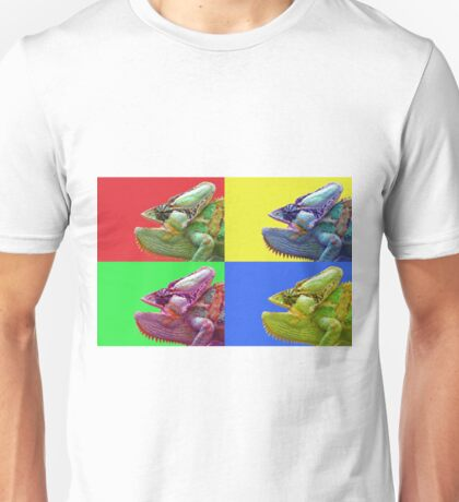 Chameleon PopArt Unisex T-Shirt