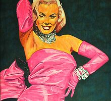 diamond girl-marilyn posed showgirl by gforall