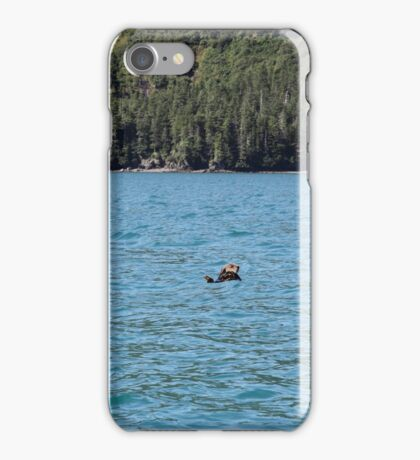 Northern Sea Otters iPhone Case/Skin