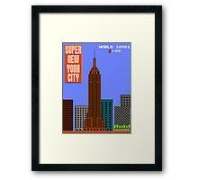 Super New York City Framed Print