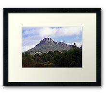 Mount Stapleton, Grampians, Victoria Framed Print