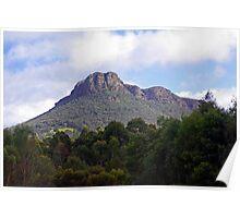 Mount Stapleton, Grampians, Victoria Poster