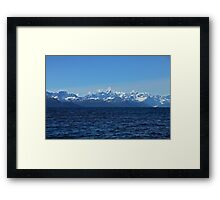 Prince William Sound Framed Print