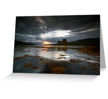 Highland Dusk Greeting Card
