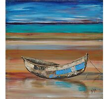 Mozambique fishing dhow Photographic Print
