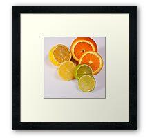 Just Fruity! Framed Print