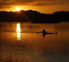 Rowing Home by Graham Mewburn