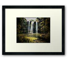 Tikipunga Falls, Whangarei, New Zealand. Framed Print