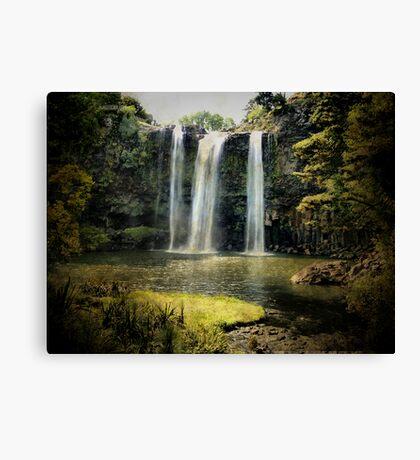 Tikipunga Falls, Whangarei, New Zealand. Canvas Print
