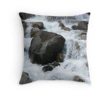 Kings Canyon Stream I Throw Pillow