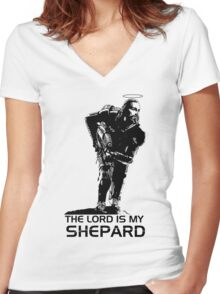 Lord Shepard Women's Fitted V-Neck T-Shirt