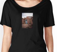 Taos Pueblo Ladder Women's Relaxed Fit T-Shirt