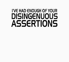 Disingenuous Assertions Unisex T-Shirt