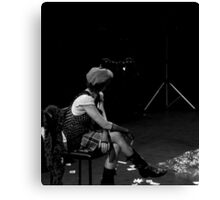 The Performer Canvas Print