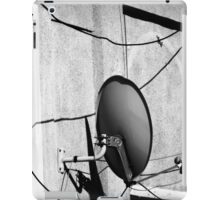 tv antena and wires iPad Case/Skin